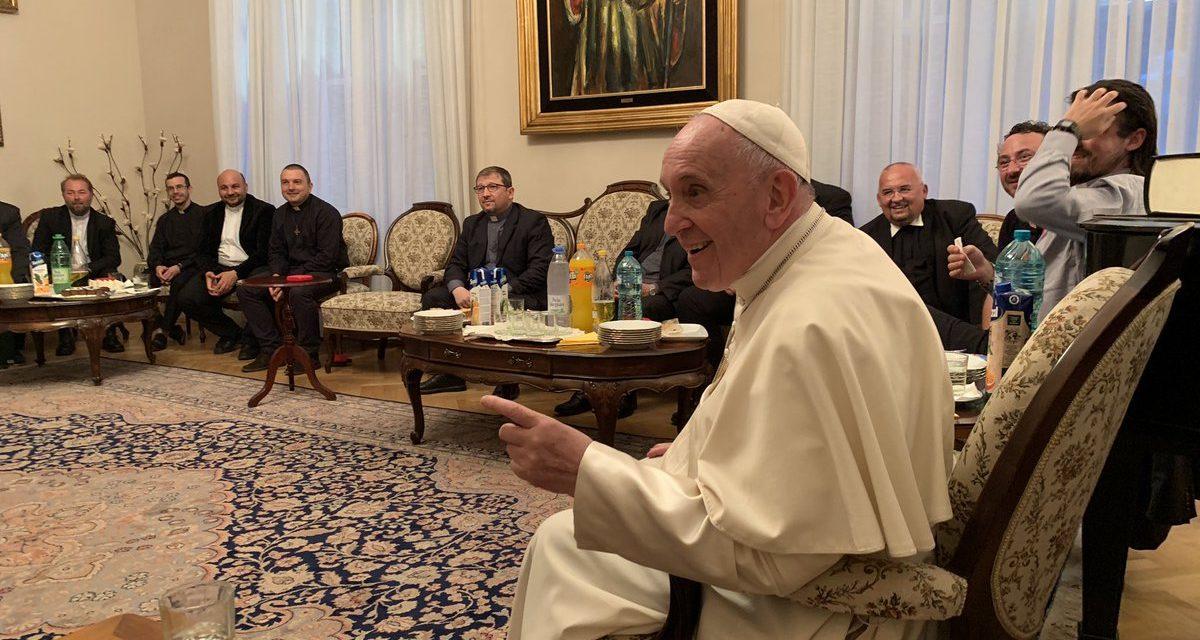 """Папа иезуитам Румынии: """"разнообразие – это благодать"""""""