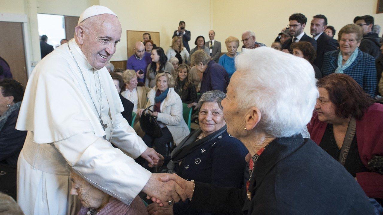 Папа Франциск о связи поколений
