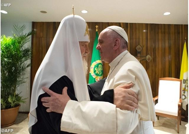 Журнал «La Civiltà Cattolica» провёл круглый стол, посвящённый встрече Папы Франциска и Патриарха Кирилла