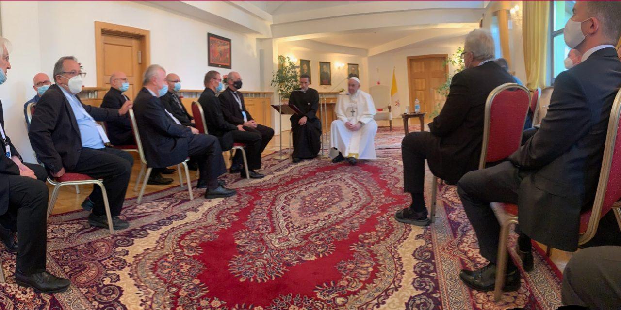 """""""Свобода пугает нас"""". Беседа Папы Франциска со словацкими иезуитами"""